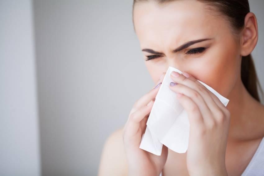 Sinusitis en verano
