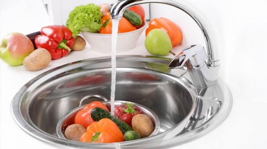 Frutas y verduras bien limpias, para evitar intoxicaciones