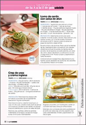 Lomo de cerdo con salsa de atún