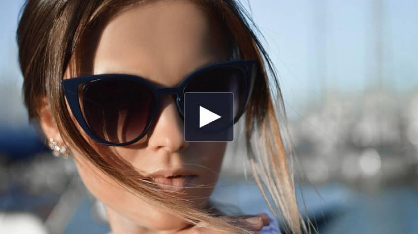 Gafas de sol en primavera