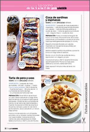 Coca de sardinas y espinacas