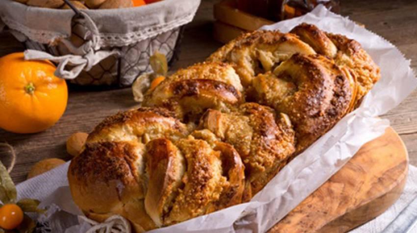Trencitas de pan y frutos secos
