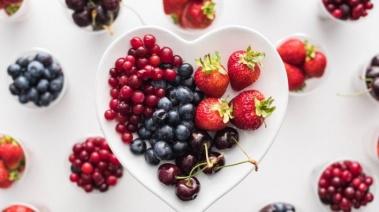 Alimento top: frutos rojos